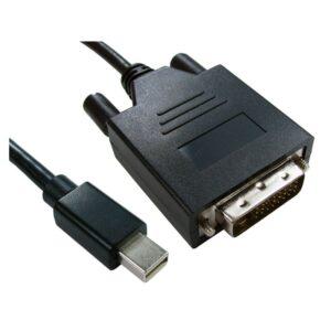 2M MINI DISPLAY PORT TO DVI-D 1080p ADAPTOR CABLE