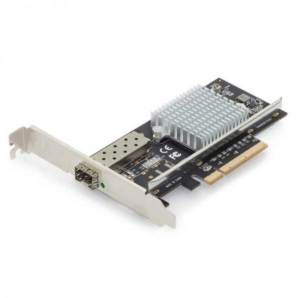 1 PORT 10Gb SFP+ FIBRE OPTIC NETWORK ADAPTOR CARD - PCIEx