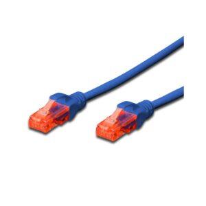 DIGITUS CAT.6 UTP PATCH CABLES - BLUE
