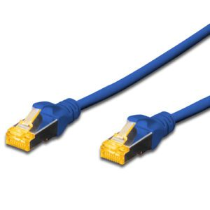 CAT.6A S-FTP PATCH CABLES - BLUE