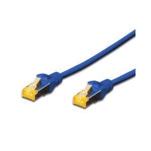 DIGITUS CAT.6A S-FTP PATCH CABLES - BLUE