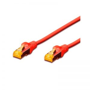 DIGITUS CAT.6A S-FTP PATCH CABLES - RED