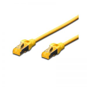 DIGITUS CAT.6A S-FTP PATCH CABLES - YELLOW