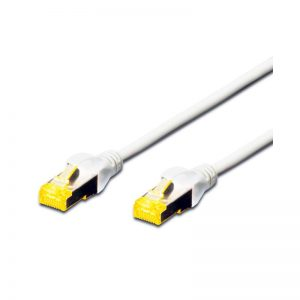 DIGITUS CAT.6A S-FTP PATCH CABLES - WHITE
