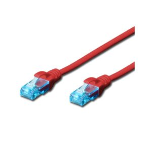 CAT.5e UTP PATCH CABLES - RED