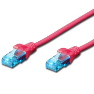 CAT.5e UTP PATCH CABLES - PINK