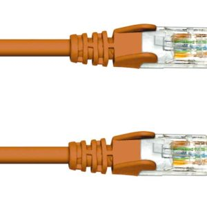 CAT.5e UTP PATCH CABLES - BROWN