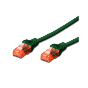 CAT.6 UTP PATCH CABLES - GREEN