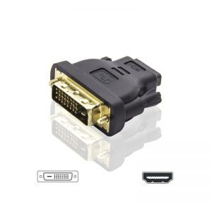 HDMI/A SOCKET - DVI-D 24+1 PLUG ADAPTOR