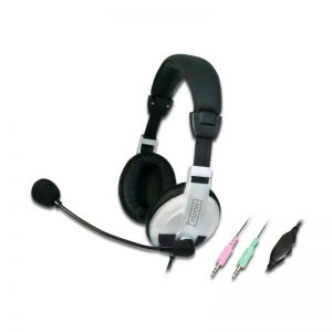 MULTI-MEDIA STEREO HEADSET WITH BOOM MIC