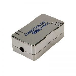 CAT.5e/6 TWISTED PAIR CABLE JUNCTION BOX